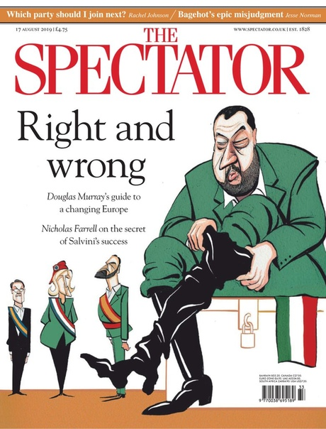 The Spectator - August 17 2019