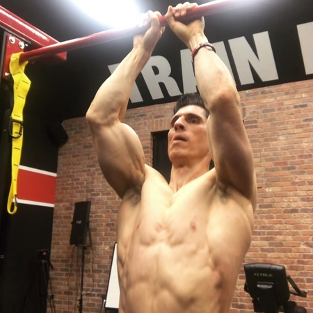 """ATHLEAN-X™   Jeff Cavaliere on Instagram """"Are your arms holding back your pull-up performance Try this. Do some close grip (hands right next to..."""