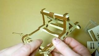 Видеогид по сборке модели катапульты Онагр (Армарика)