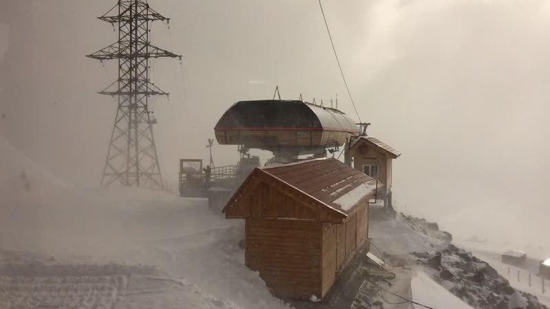 Эльбрус Станция Мир 3500м