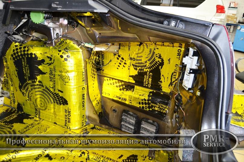 Комплексная шумоизоляция Skoda Octavia A5, изображение №9