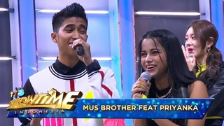 MusBrother duet Nyanyiin Lagu India Bareng Priyanka Z Girls - I'ts Show Time Eps 2