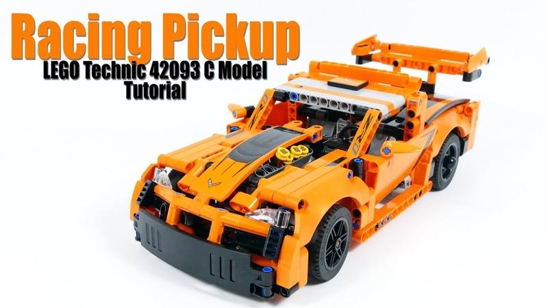 Tutorial for Racing Pickup - LEGO Technic 42093 C Model