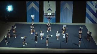 Cheerleading . Junior Cheer Coed Elite  Finland Blackbackz.