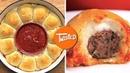How To Make Meatball Stuffed Dough Balls Party Food Recipes Stuffed Dough Balls Twisted