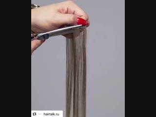 С #hairtalk Вам не надо красить и лсивнолять волосы, достаточно добавить пряди и Вы шикарная блондинка 😍🔥 Волосы #люкс качества