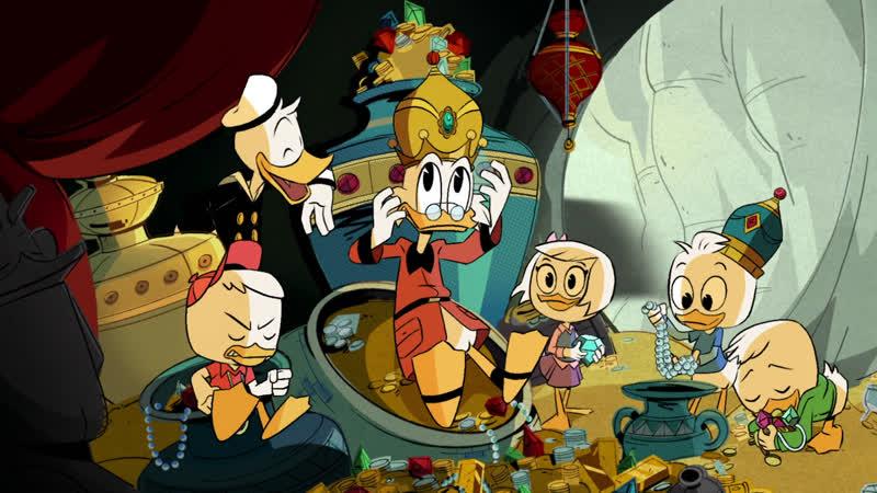 MedusaSub DuckTales Утиные истории 1 серия русские субтитры