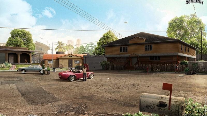 Grand Theft Auto San Andreas -Приключения CJ или Это Гетто Бро, В Гетто Не Всё Хорошо! 5