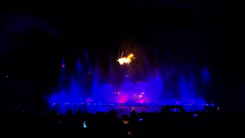 Шоу магия танцующих фонтанов. Протарас.Кипр. (Вулкан)