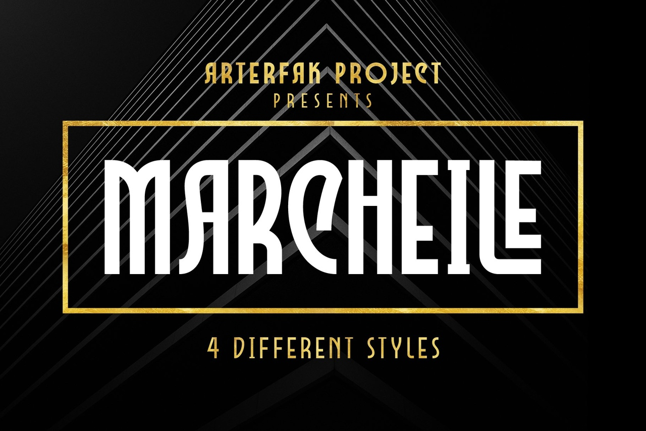 Шрифт - Marcheile