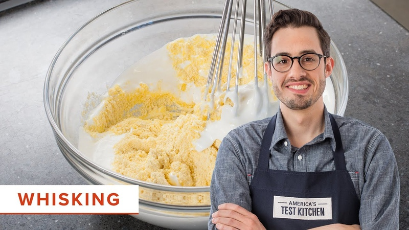 The Best Unexpected Technique for Whisking