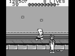 (Game Boy) Bart Simpsons Escape from Camp