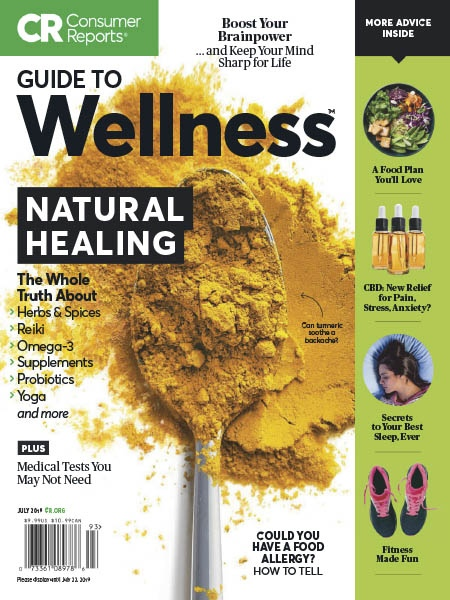 Consumer Reports Guide to Wellness 07.2019