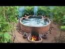 Unbelievable How To Make Brick Wall Build Beautiful Heated Swimming Pool By Talented Bushmen