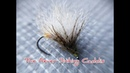 Tying The Never Sinking Caddis deadly for trout and grayling