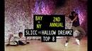 Slicc (NY) vs HallowDreamz (NY) | TURFinc | BAY VS NY | 2nd Annual | Top 8 Dance Battle Tournament