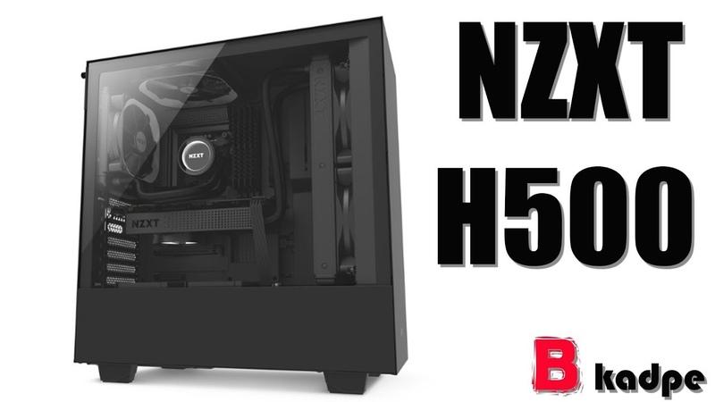 Корпус NZXT H500 - вся суть в деталях