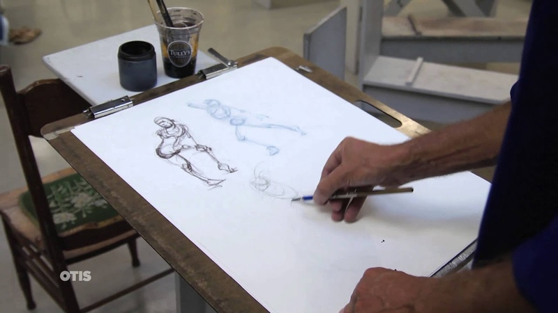 Gesture Drawing II with Chris Warner (Otis College)