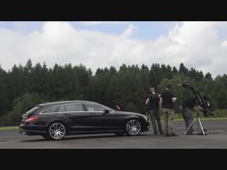 Filming brabus b50 shooting brake with ajoneuvos from finnland @ flug