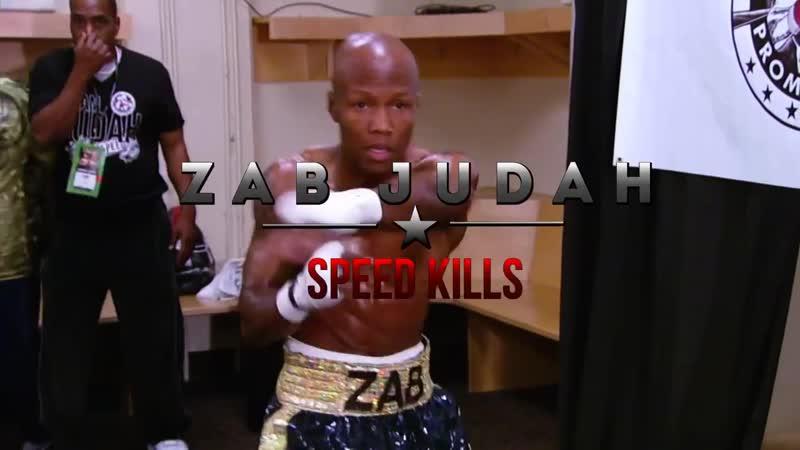 Zab Judah SPEED KILLS