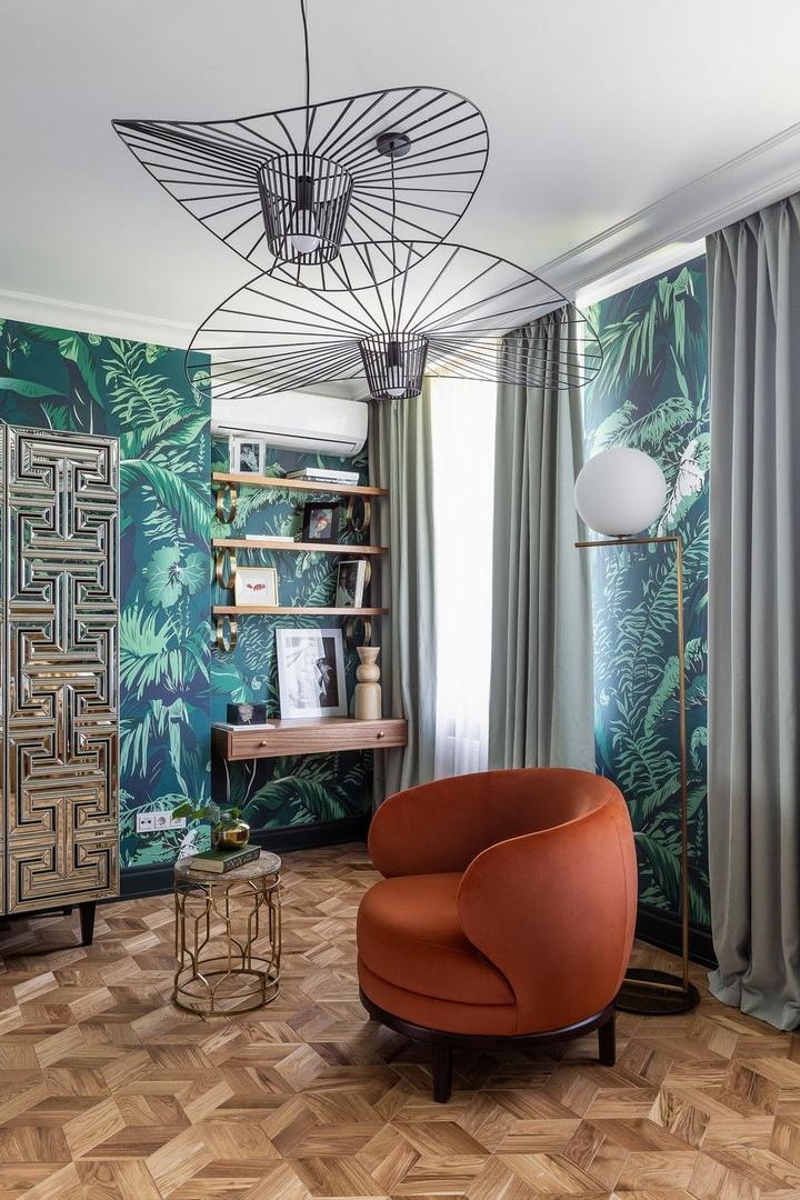 Вечный праздник: квартира в Москве для семьи с тремя детьми по проекту  дизайнера Ульяны Бойковой
