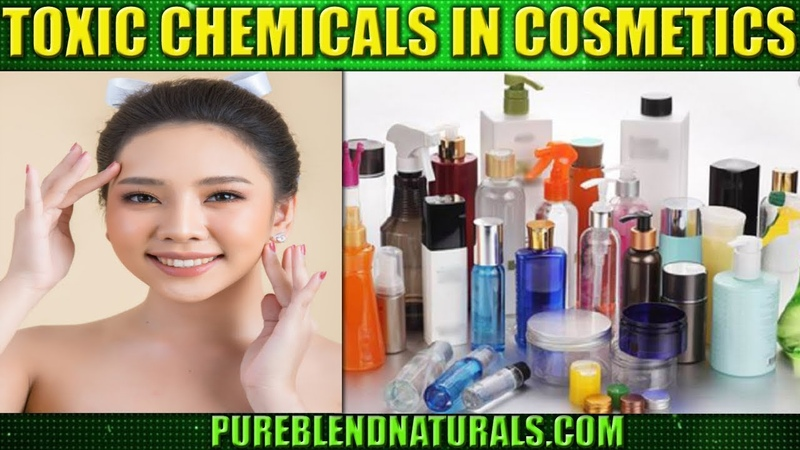 Toxic Chemicals Harmful Ingredients In Cosmetics And Beauty Products - WAKE UP CALL!