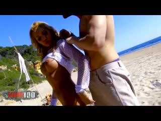 Анальный секс на пляже | ginger hell hot blonde milf fucked on a public beach