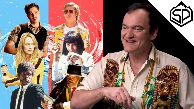 Квентин Тарантино о меме с Траволтой киновселенной Марвел и своих лучших фильмах