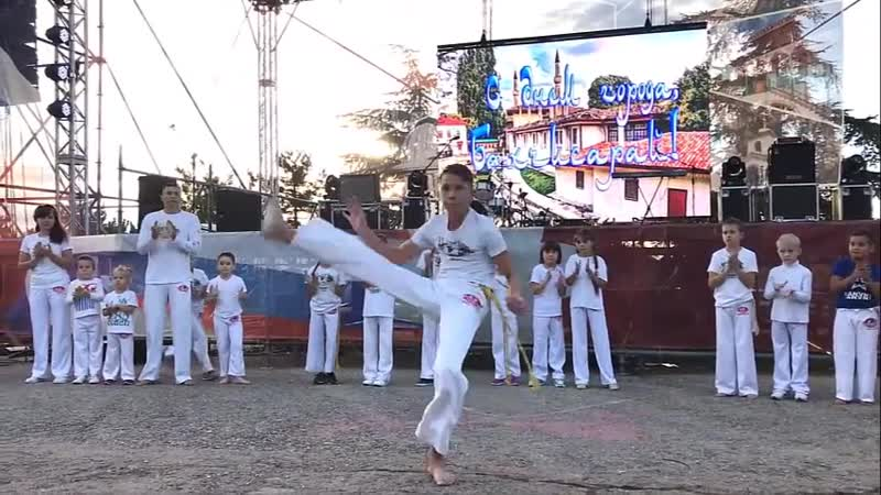 ABADA Capoeira Бахчисарай моменты из жизни школы