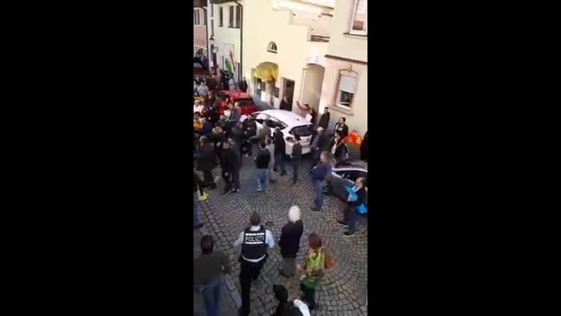 Kurdische Demo gegen die t xfc rkische Offensive villingen
