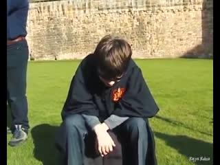Редкие видеозаписи со съемок Гарри Поттера 2000 года