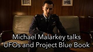 Michael Malarkey talks UFOs and Project Blue Book