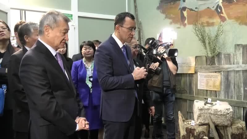 В ВКГТУ состоялось открытие музея Большой Алтай