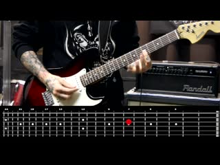 Sasha Rock'n'Roll guitar lessons - Ska-P (Welcome To Hell) видео урок №34 tutorial