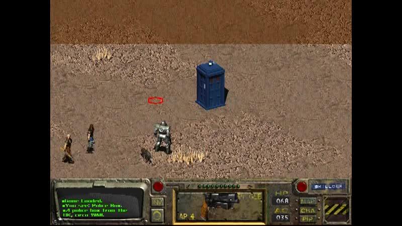 The Tardis in Fallout.