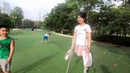 AMPUTEE GIRL IN A PARK part 2