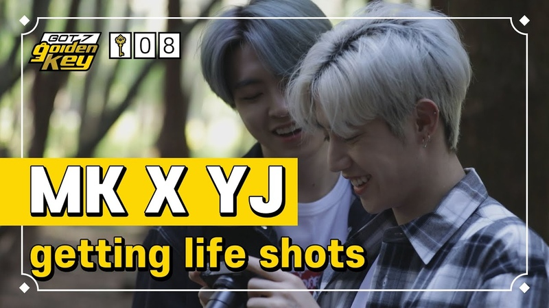[GOT7 Golden key ep.8] Mark and Youngjae, getting life shots(막퉤형제, 인생샷 건지다)