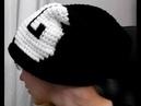 шапка с графикой инструкция вязание крючком Beanie