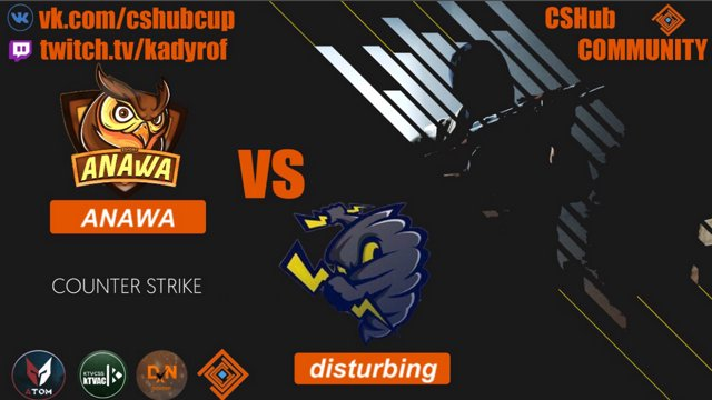 DXN CUP MARCH END ANAWA vs disturbing bo1 de_dust2 Комментаторы: R1ki