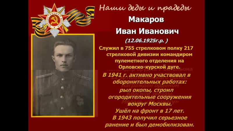 Книга памяти МССУОР № 3 Москомспорта Наши деды и прадеды