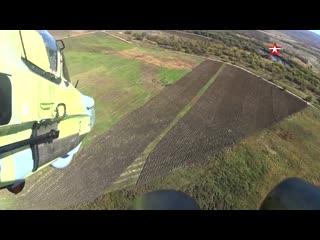 Испытания новых вертолетов Ка-52 Аллигатор