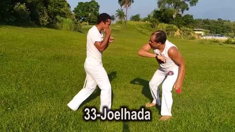 60 movimentos de capoeira para Luta 51 Golpes e 9 esquivas Técnicas de defes