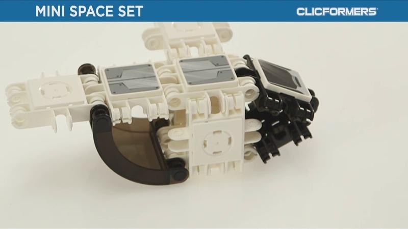 Конструктор CLICFORMERS mini Space set 30 pcs