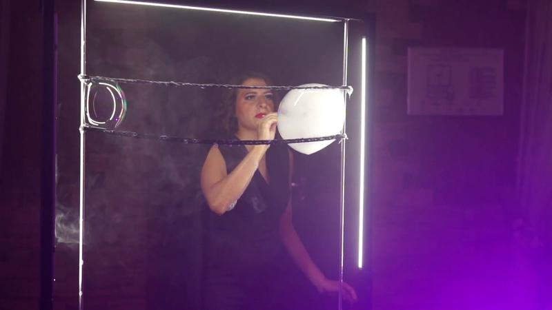 Мария Малетина Шоу мыльных пузырей на Свадьбадьбу