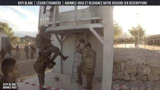 LÉGION ÉTRANGÈRE - 2REP PARCOURS   KEPI BLANC