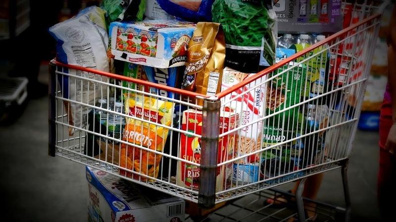 Почём еда в США? Американский супермаркет [4K]
