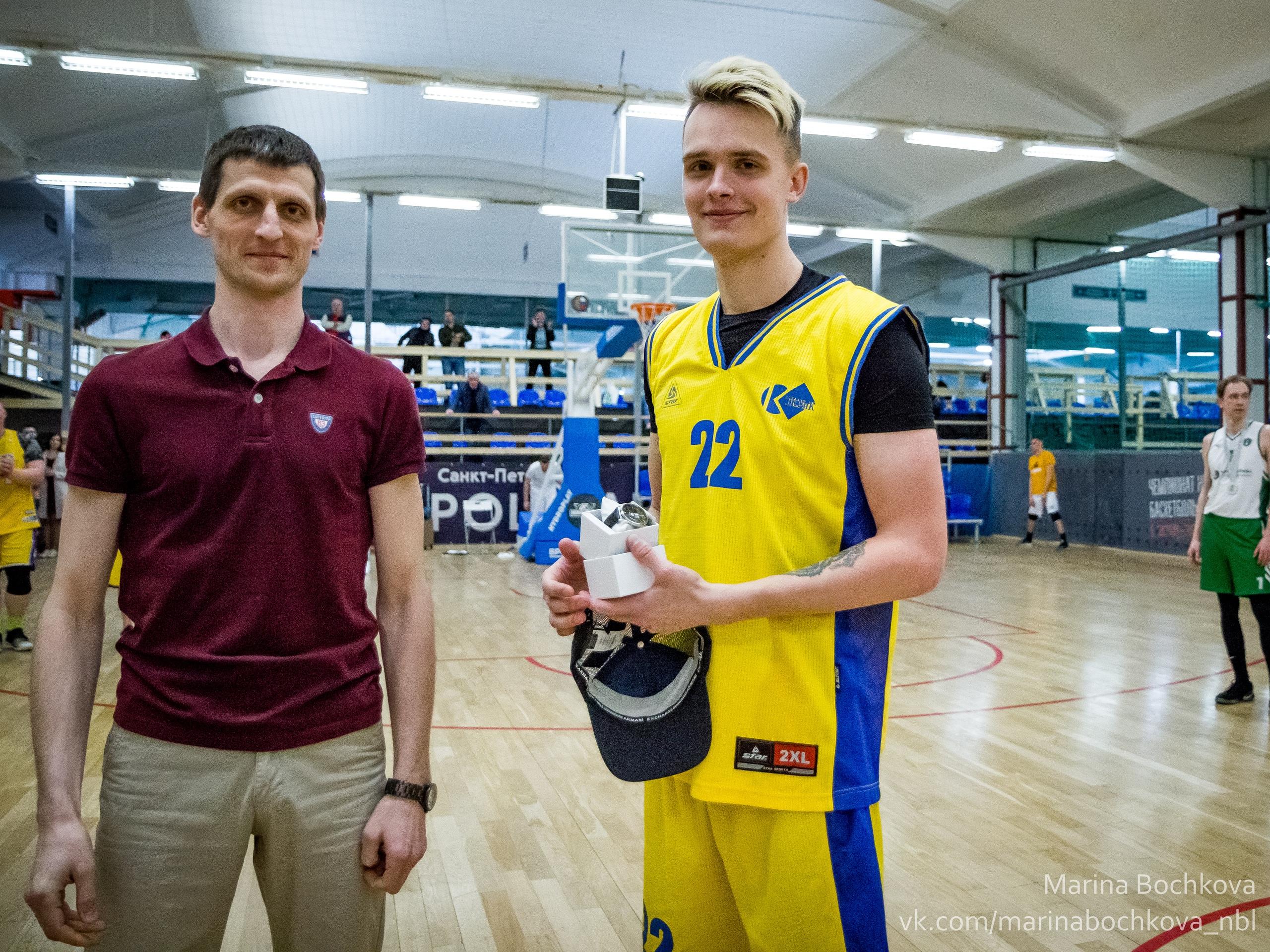Дмитрий Фатеев – MVP Шестого Дивизиона НБЛ сезона 2018-2019