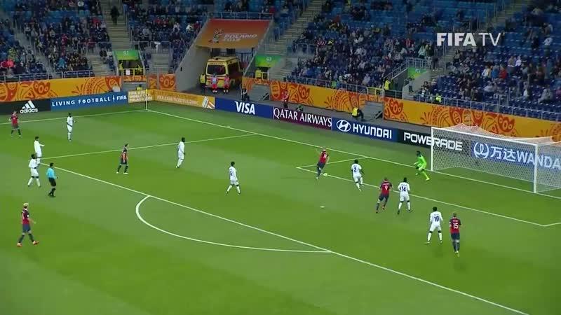 Эрлинг Холланд - 9 голов на чемпионата мира U-20