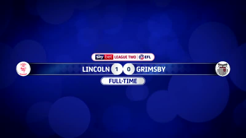 Lincoln City vs Grimsby Town