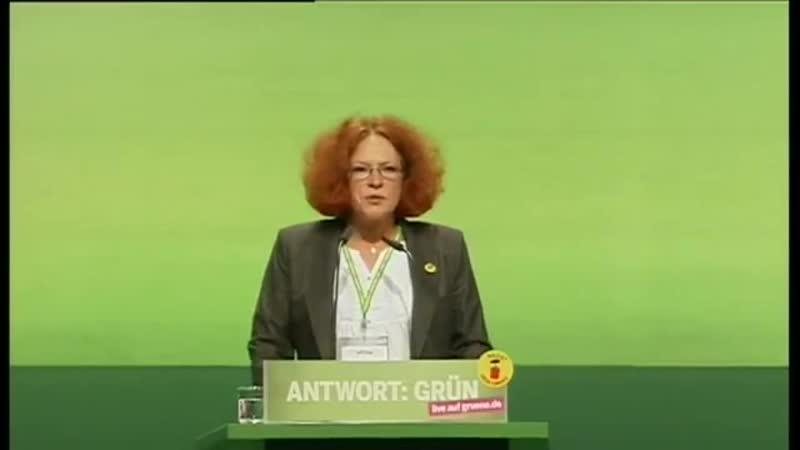 Anetta Kahane auf der BDK in Kiel 2011 | BÜNDNIS 90/DIE GRÜNEN